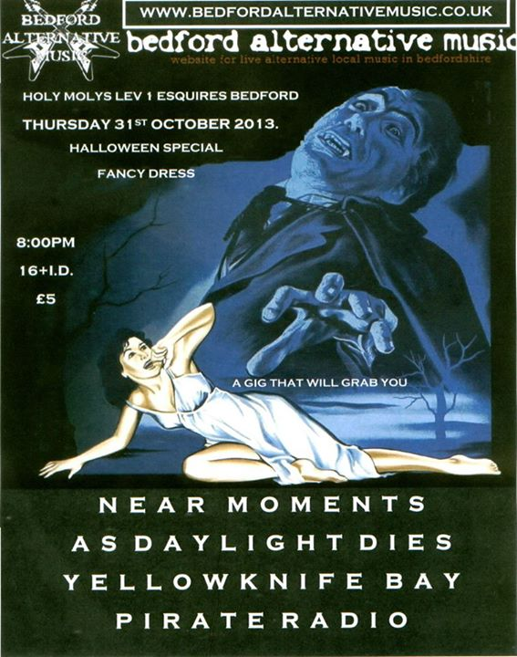 HALLOWEEN GIG SPECIAL: Near Moments, As Daylight Dies