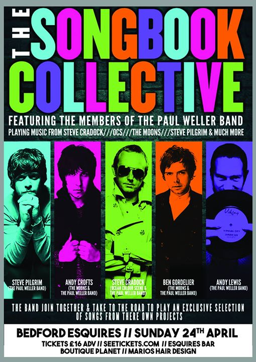 The Songbook Collective ft members of Ocean Colour Scene & the Paul